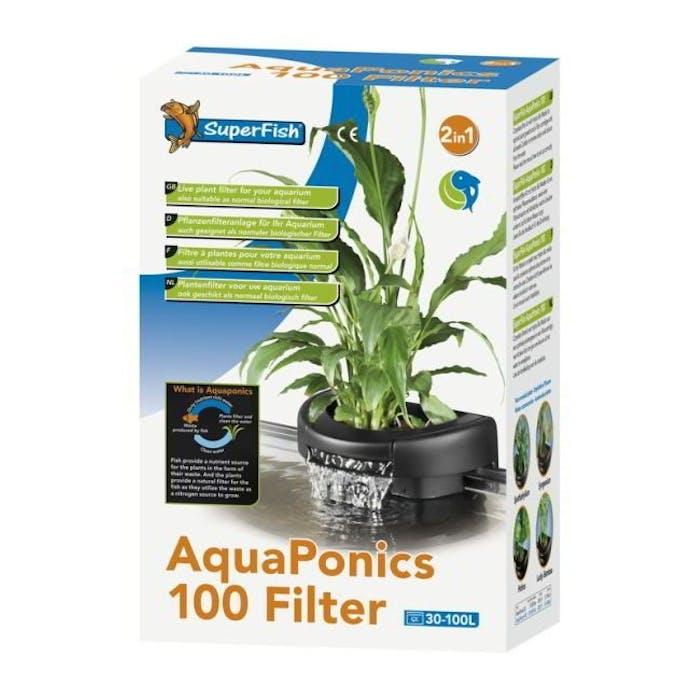 Aquaponics filter 100