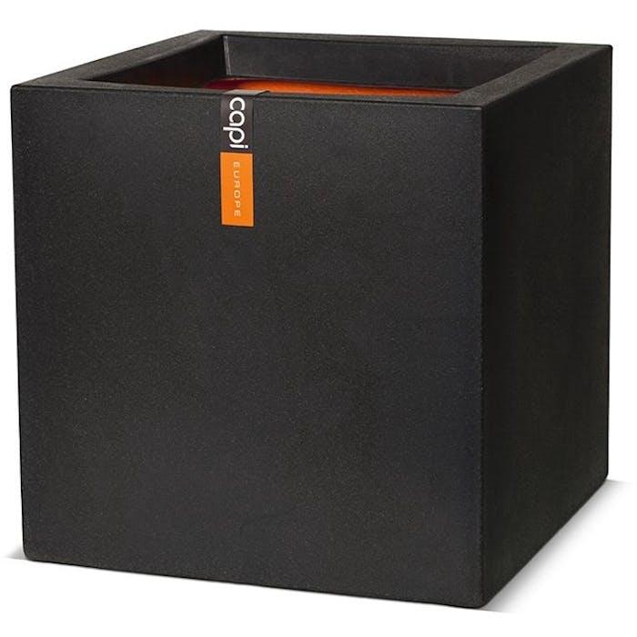 Tutch! pot vierkant 30x30x30 - zwart