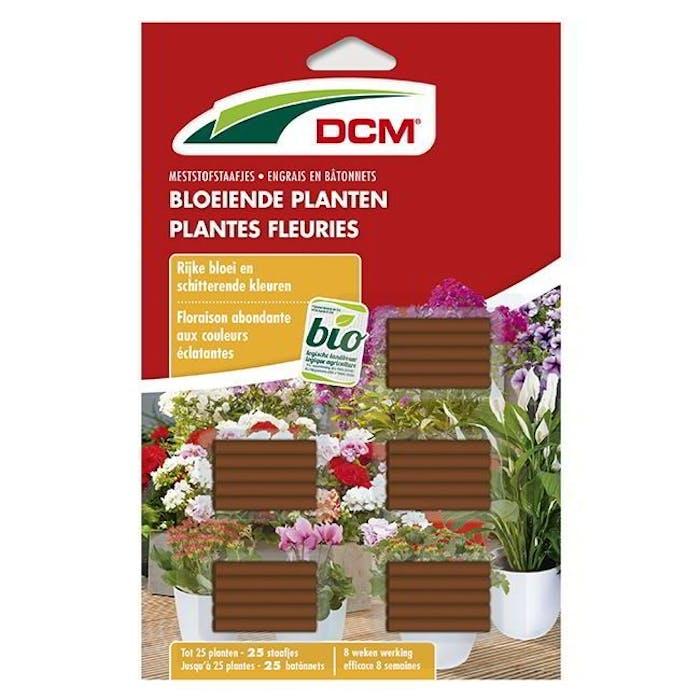 DCM Meststofstaafjes Bloeiende Planten 25 staafjes - BIO