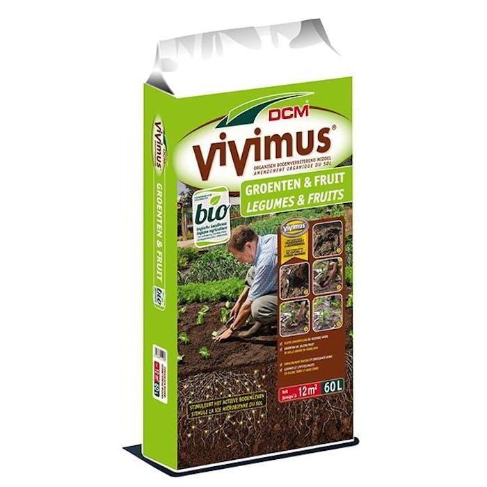 DCM Vivimus® Groenten & Fruit 60 L - BIO